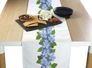 Forget Me Nots Border Milliken Signature Table Runner - Assorted Sizes