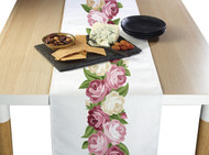Peonies Border Milliken Signature Table Runner - Assorted Sizes