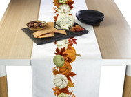 Pumpkin Border Milliken Signature Table Runner - Assorted Sizes