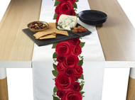 Rose Garland Border Milliken Signature Table Runner - Assorted Sizes