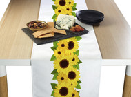 Sunflower Garland Border Milliken Signature Table Runner - Assorted Sizes