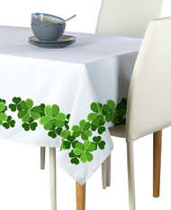 Clover Garland Border Milliken Signature Rectangle Tablecloths