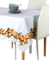 Fall Foliage Border Milliken Signature Rectangle Tablecloths