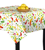 5 O'Clock Somewhere Square Tablecloths