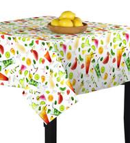 5 O'Clock Somewhere Square Tablecloths