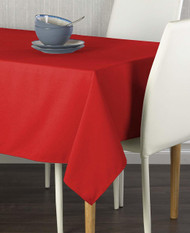 "Milliken Signature Solid Red 60""x102"" Tablecloth"