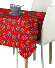 American Bald Eagle Red Rectangle Tablecloths
