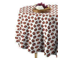 American Bald Eagle White Round Tablecloths