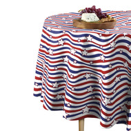 American Stars & Stripes Round Tablecloths