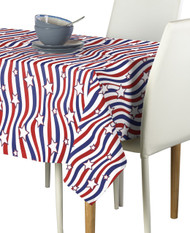 American Stars & Stripes Rectangle Tablecloths
