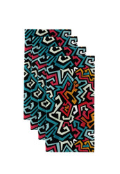 """Graffiti Art Print Napkins 18""""x18"""" 1 Dozen"""