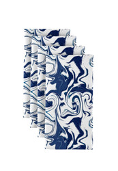 """Blue Marble Milliken Signature Napkins 18""""x18"""" 1 Dozen"""