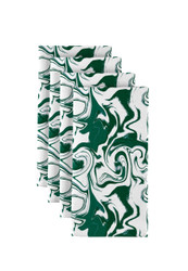 """Green Marble Milliken Signature Napkins 18""""x18"""" 1 Dozen"""