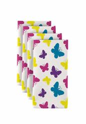 """Butterfly Multi Milliken Signature Napkins 18""""x18"""" 1 Dozen"""