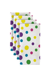 "Spring Dots All Over Multi Milliken Signature Napkins 18""x18"" 1 Dozen"