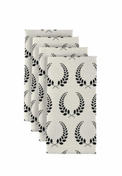 "Graduation Wreath Milliken Signature Napkins 18"" x 18"" 1 Dozen"