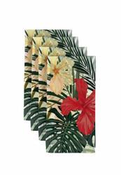 "Hibiscus Garden  Milliken Signature Napkins 18""x18"" 1 Dozen"