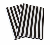 "Referee Stripe Milliken Signature Napkins 18""x18"" 1 Dozen"