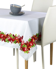 Autumn Apple Harvest Border Milliken Signature Rectangle Tablecloths