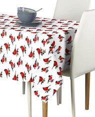 Christmas Cardinals Milliken Signature Rectangle Tablecloths