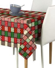 Christmas Quilt  Milliken Signature Rectangle Tablecloths
