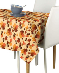 Fall Maple Leaves Milliken Signature Rectangle Tablecloths