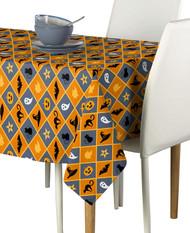 Halloween Argyle Milliken Signature Rectangle Tablecloths