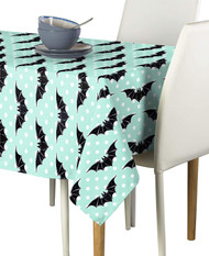 Halloween Bats & Dots Milliken Signature Rectangle Tablecloths