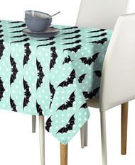 Halloween Bats & Dots Milliken Signature Rectangle Tablecloths