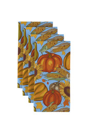 "Sunflower Harvest Signature Napkins 18""x18"" 1 Dozen"