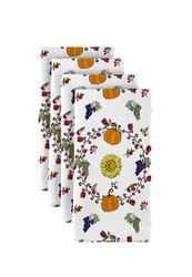 "Harvest Bounty Circle Signature Napkins 18""x18"" 1 Dozen"