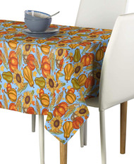 Sunflower Harvest  Milliken Signature Rectangle Tablecloths