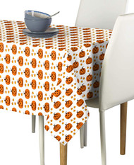 Corny Pumpkins Milliken Signature Rectangle Tablecloths
