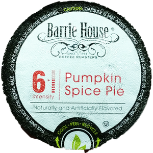 Barrie House Pumpkin Spice Pie Flavored Coffee