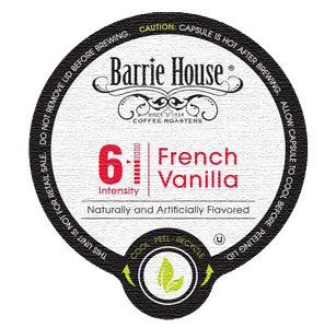 Barrie House French Vanilla Flavored Coffee Single Serve Cups