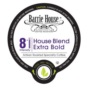 Barrie House House Blend Extra Bold Coffee Single Serve Cups