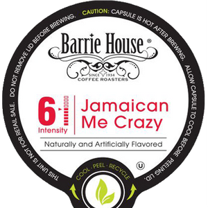 Barrie House Jamaican Me Crazy Flavored Coffee Single Serve Cups