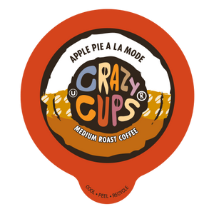 Crazy Cups Apple Pie A La Mode Flavored Coffee Single Serve Cups