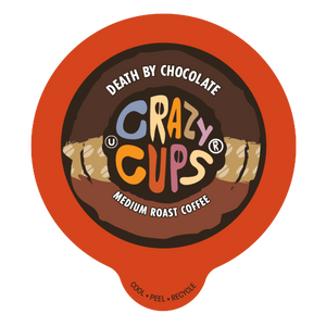 Crazy Cups Death By chocolate Flavored Coffee Single Serve Cups