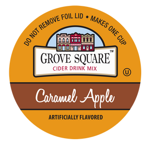 Grove Square Caramel Apple Cider Single Serve Cups