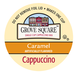 Grove Square Caramel Cappuccino Single Serve Cups
