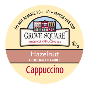 Grove Square Hazelnut Cappuccino Single Serve Cups