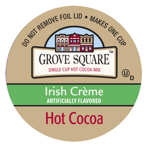 Grove Square Irish Cream Hot Cocoa Single Serve Cups