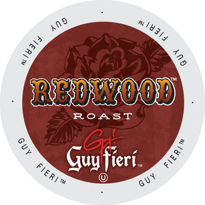 Guy Fieri Redwood Roast Coffee Single Serve cups