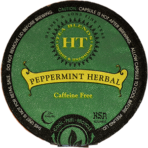 Harney & Sons Peppermint Herbal Decaf Tea Single Serve Cups