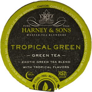 Harney & Sons Tropical Green Tea Single Serve Cups