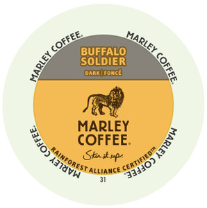 Marley Coffee Buffalo Soldier Single Serve Cups