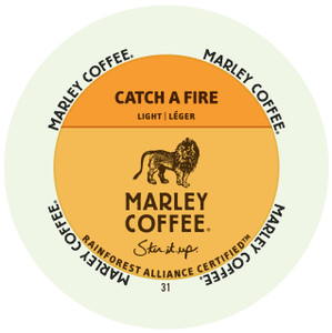 Marley Coffee Catch A Fire Single Serve Cups