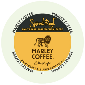 Marley Coffee Spiced root Flavored Coffee Single Serve Cups