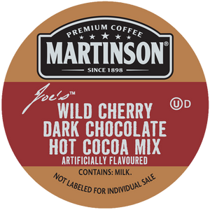 Martinson Joe's Wild Cherry Dark Chocolate Hot Cocoa Mix Single Serve Cups